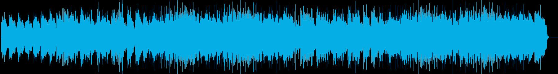 エレクトリックピアノの効いたポップスの再生済みの波形