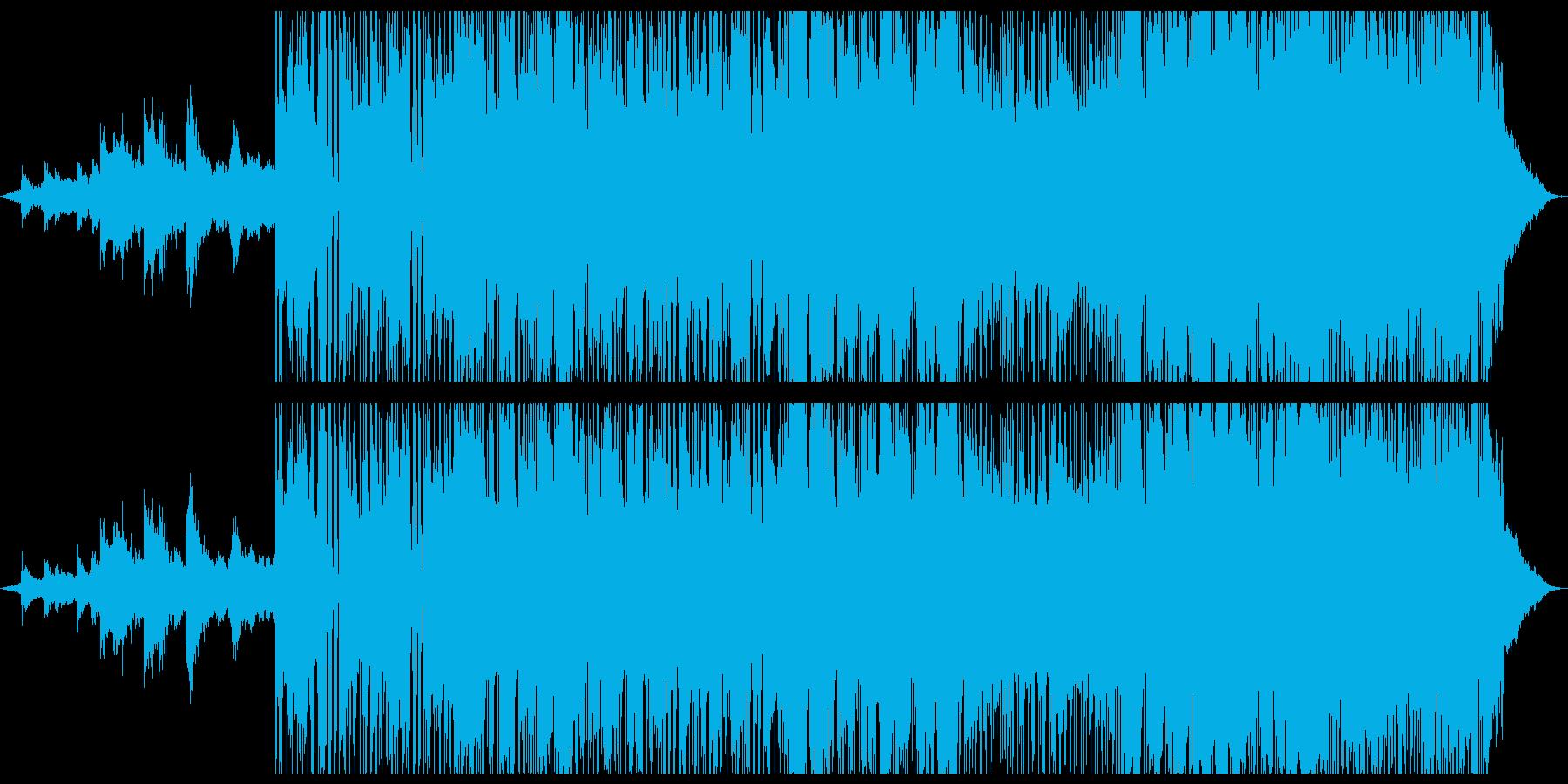 ブルージーでjazzyなバラードの再生済みの波形