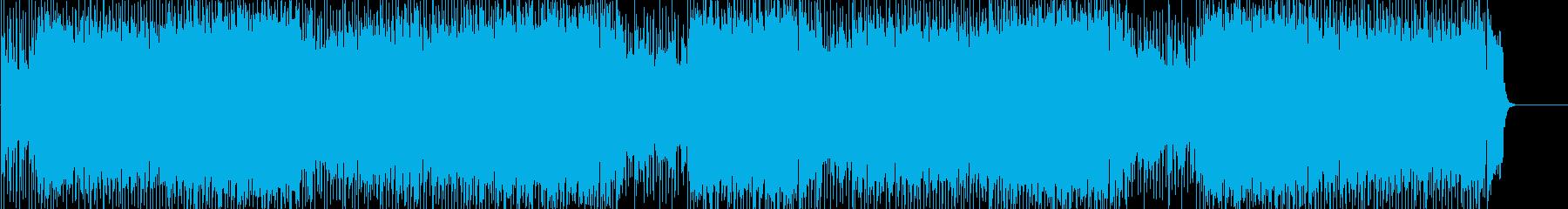 はつらつ テーマ 前進 青空の再生済みの波形
