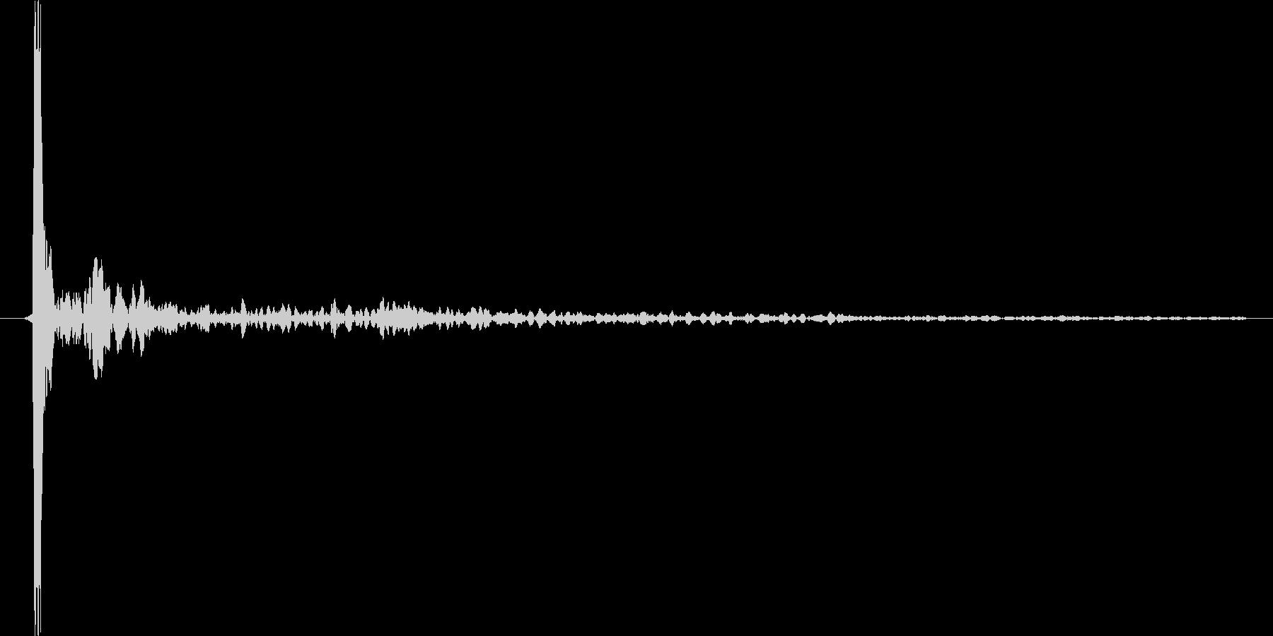 水滴、水の落ちる音です 08の未再生の波形