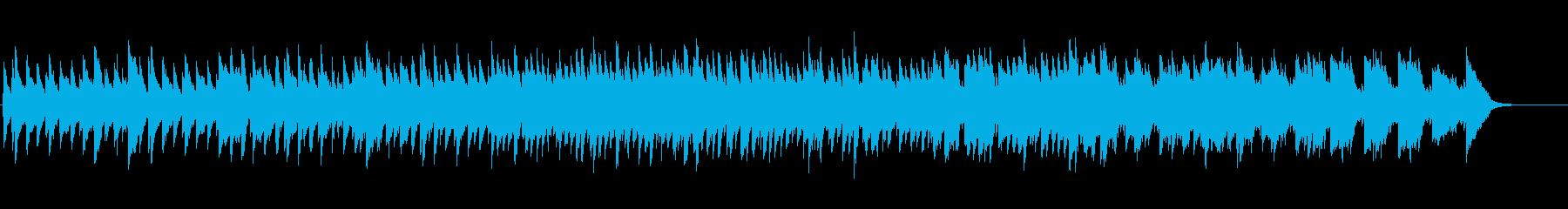 ショパンのマズルカのイメージのオリジナルの再生済みの波形