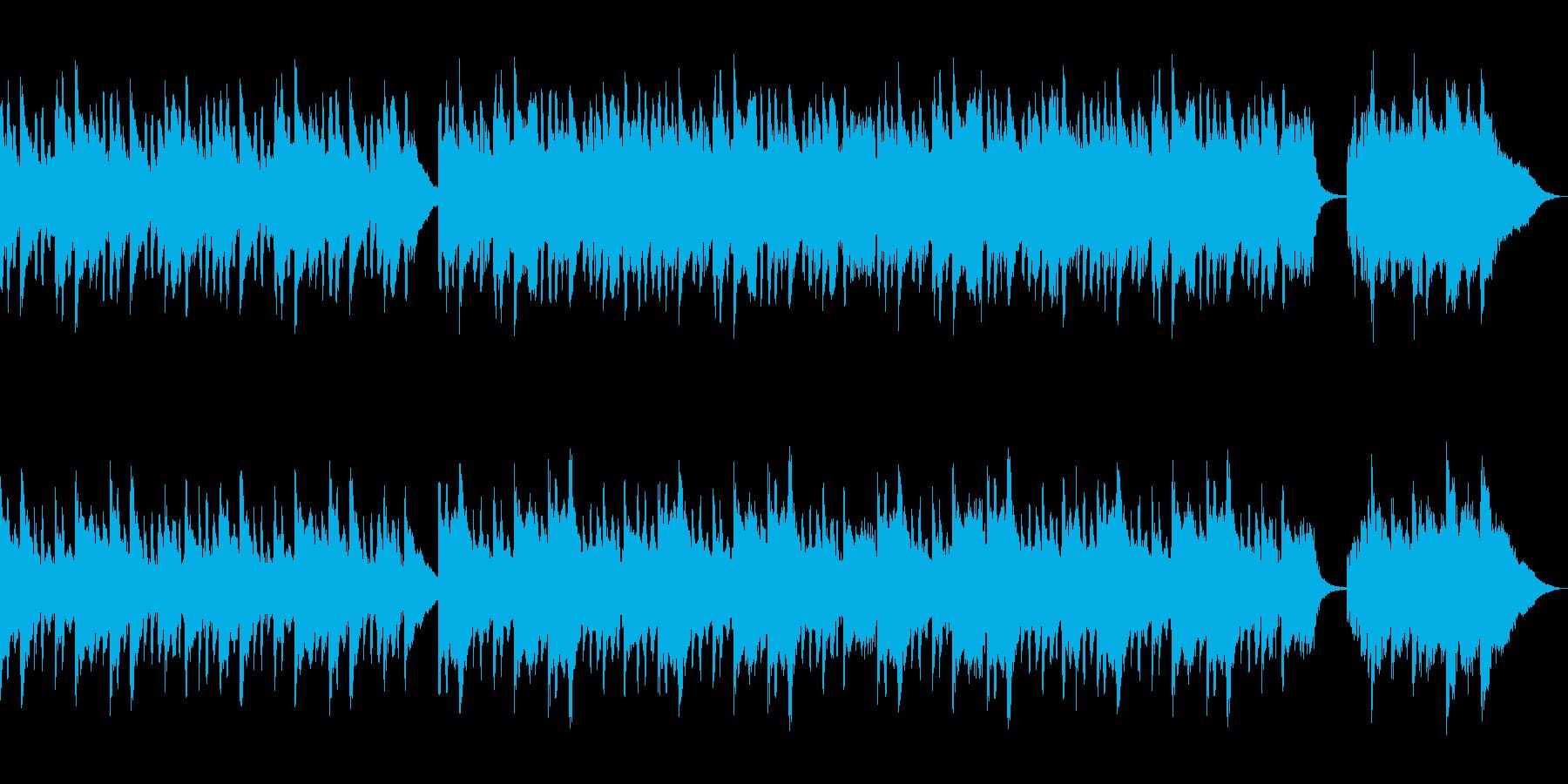 ピアノバラード バイオリンソロの再生済みの波形