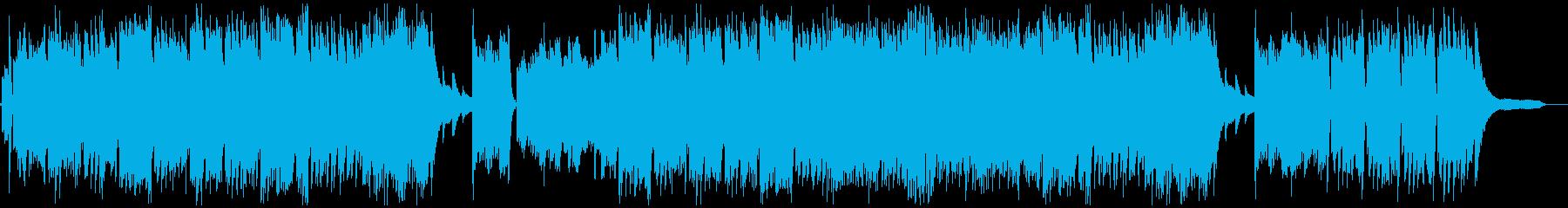 疾走感のある、力強いピアノ・ソロの再生済みの波形