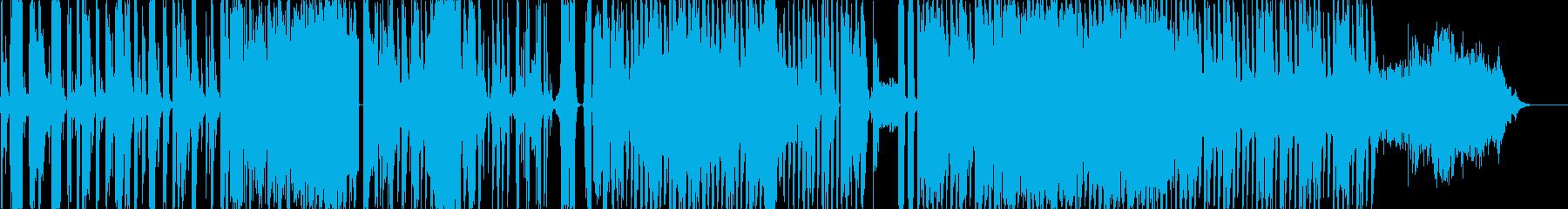 朝起きてから出発するまでの音を音楽にの再生済みの波形