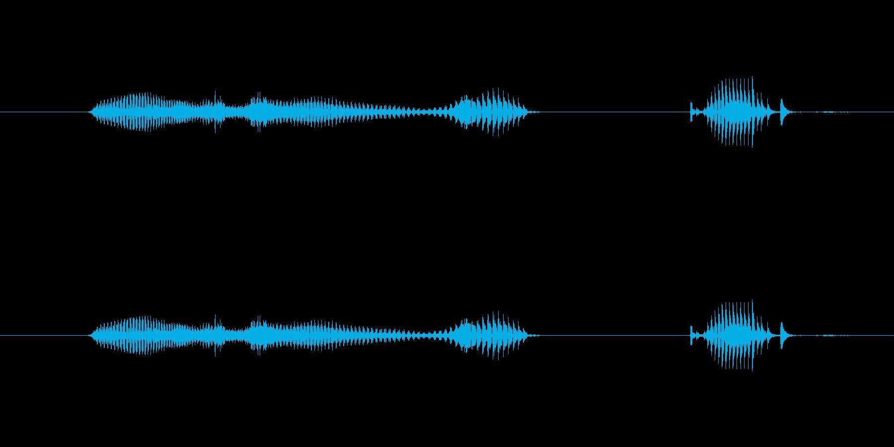 【日】24日の再生済みの波形