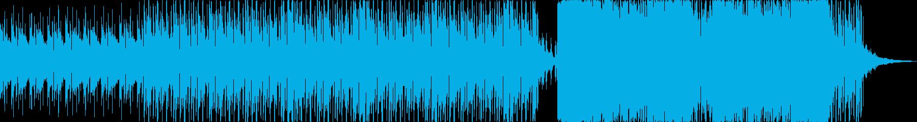センスある空間を演出する都会的BGMの再生済みの波形