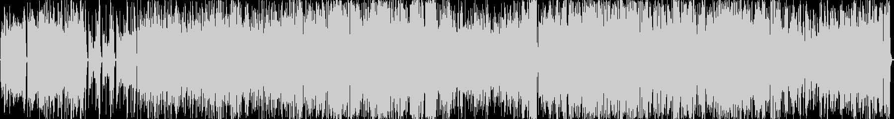 歪のベースサウンド 疾走感 BGMの未再生の波形