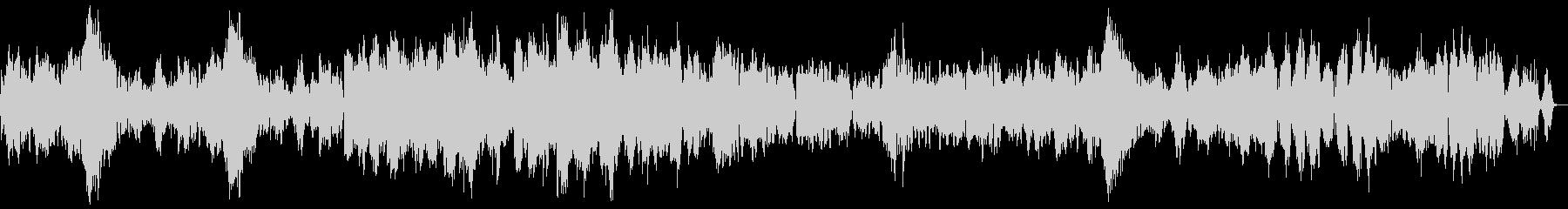 「クープランの墓」から 『フォルラーヌ』の未再生の波形