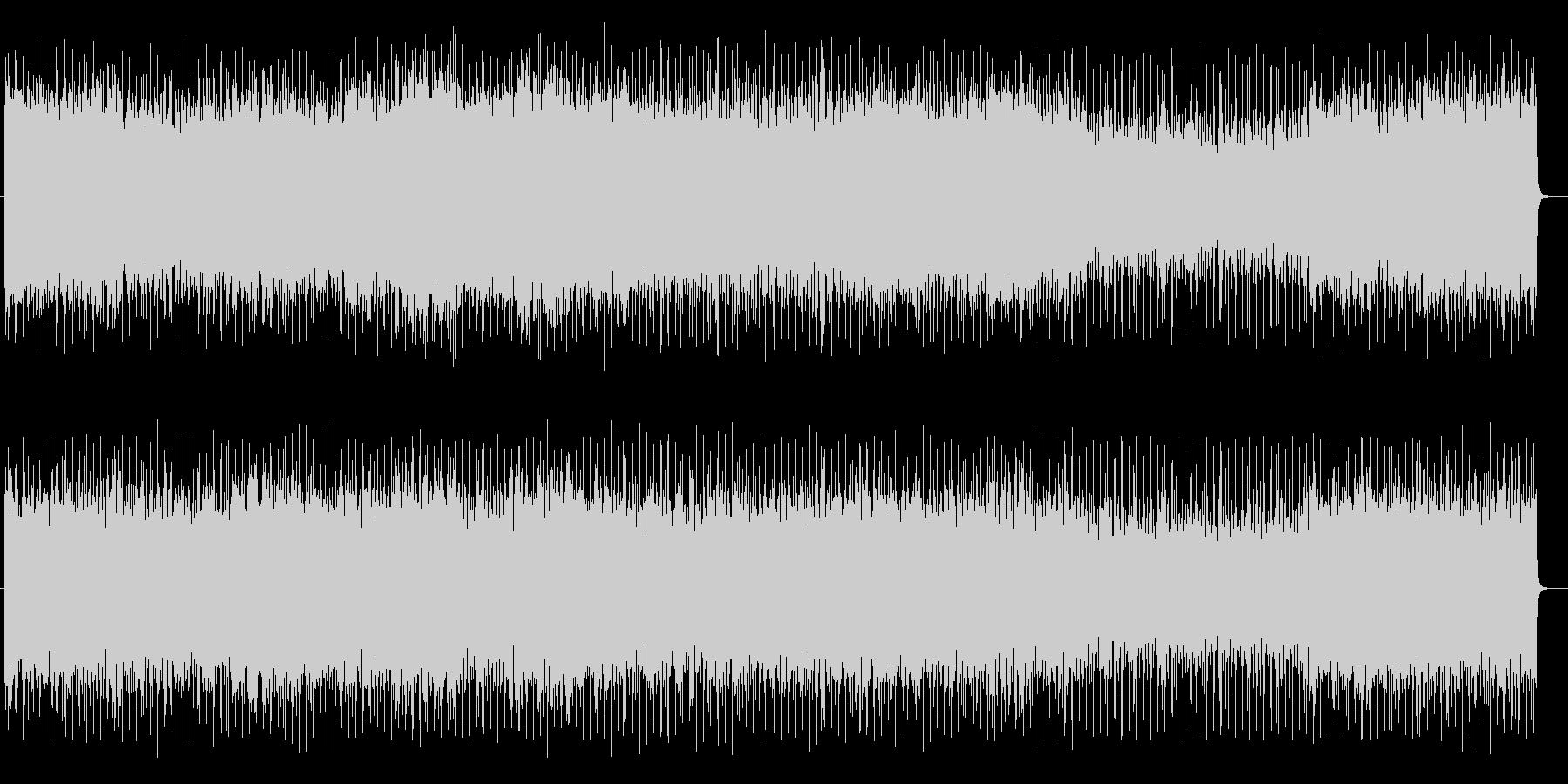 躍動感あるテクニカルなエレキサウンドの未再生の波形