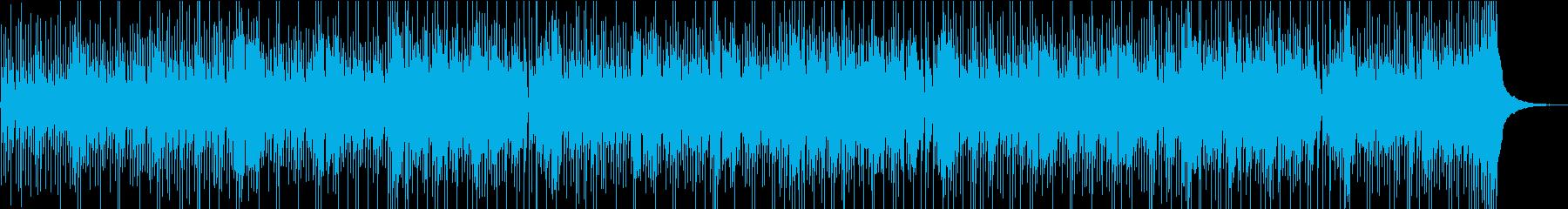 のどかであたたかな雰囲気のBGMの再生済みの波形