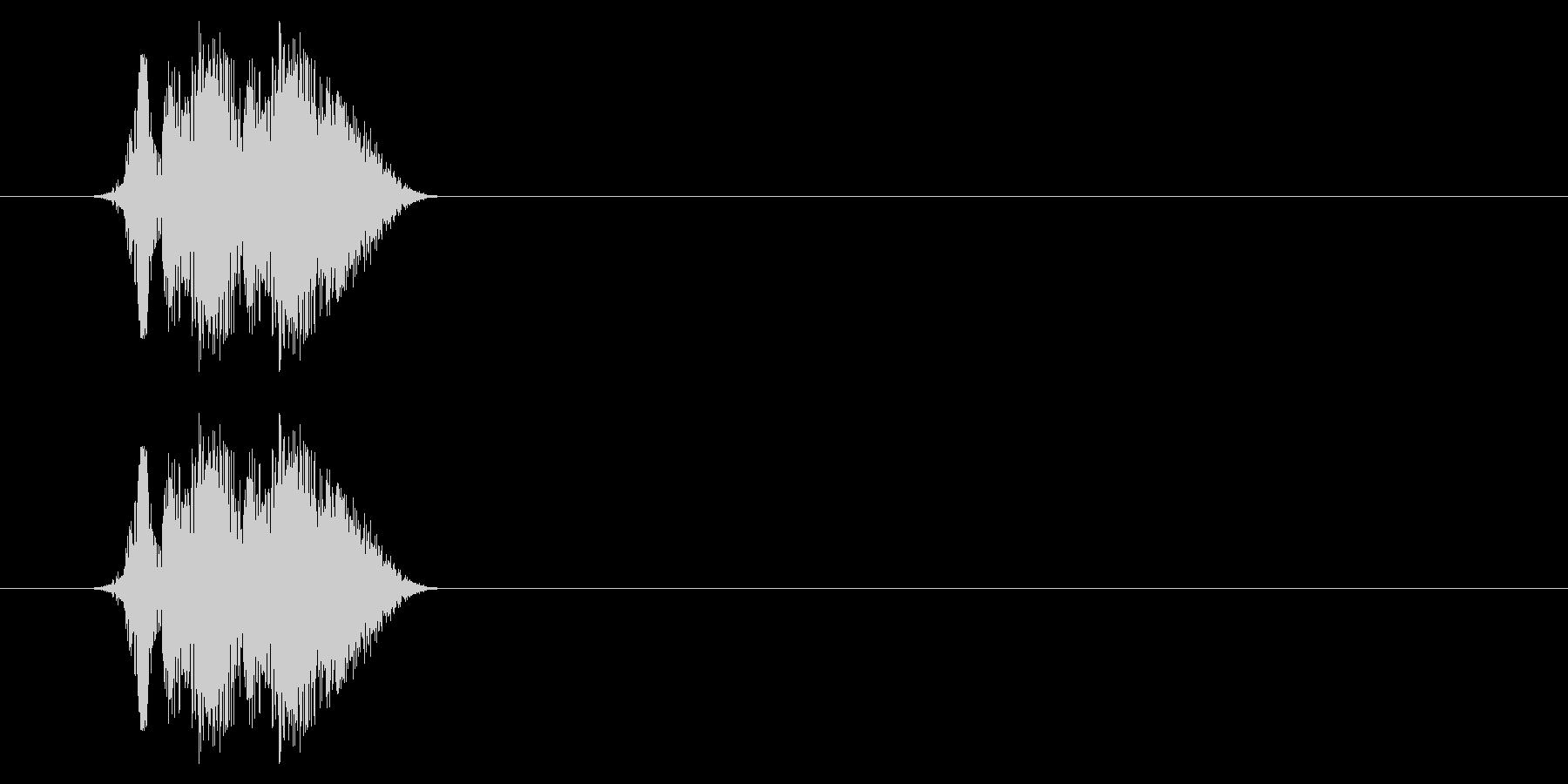 打撃06-4の未再生の波形