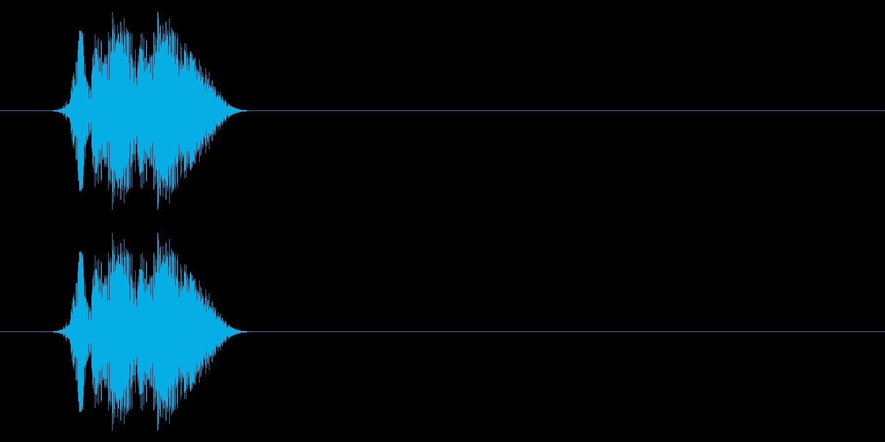 打撃06-4の再生済みの波形