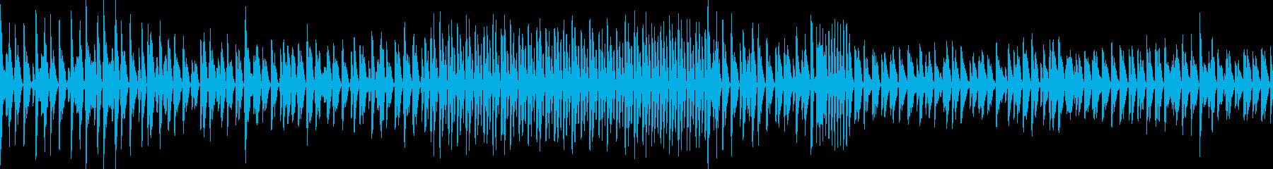 わくわく原始的ミュージック(ループ仕様)の再生済みの波形