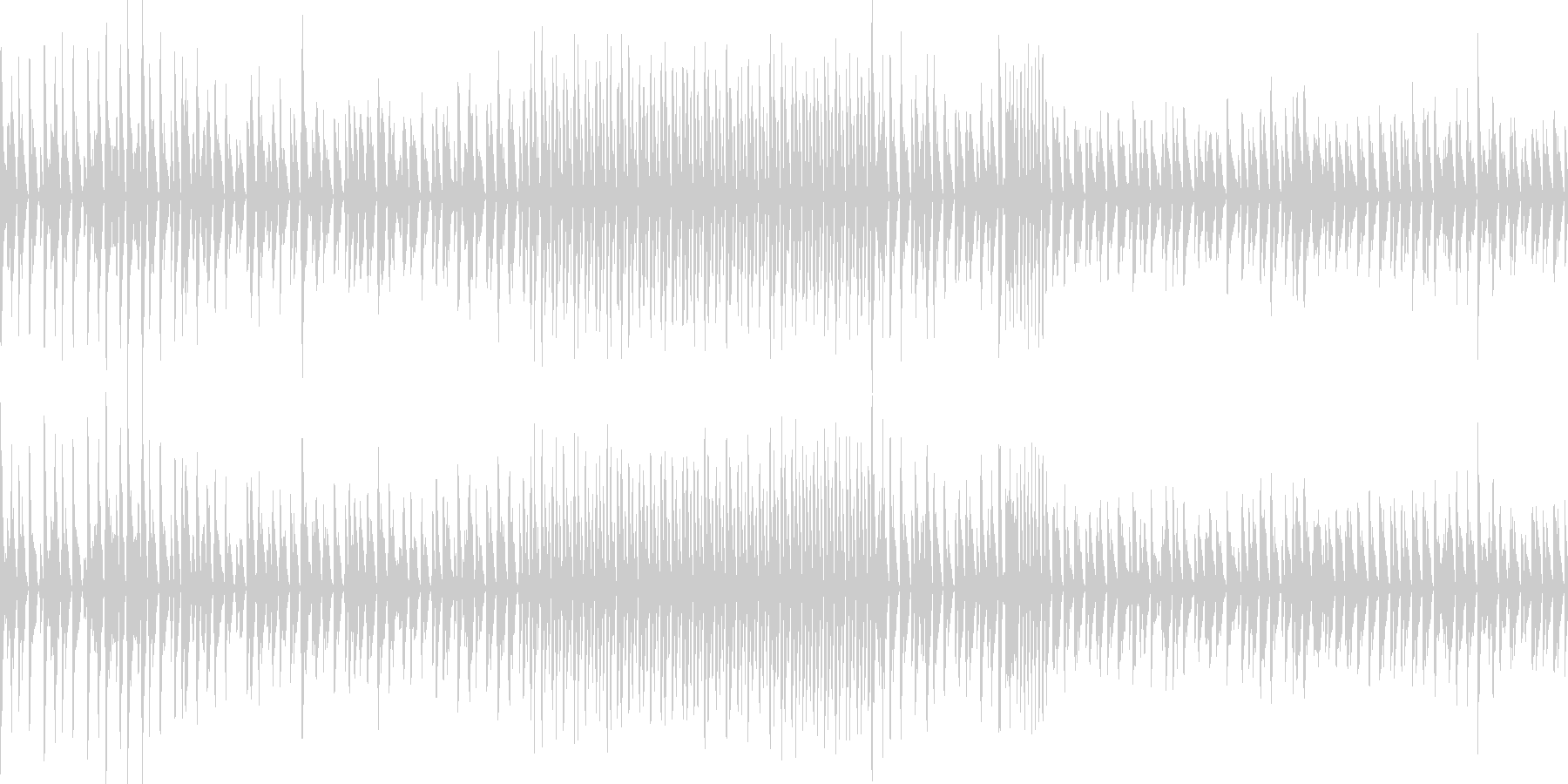 わくわく原始的ミュージック(ループ仕様)の未再生の波形