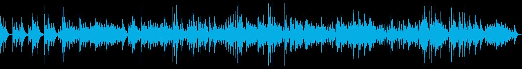 思い出のオルゴール〜優しく懐かしい曲の再生済みの波形