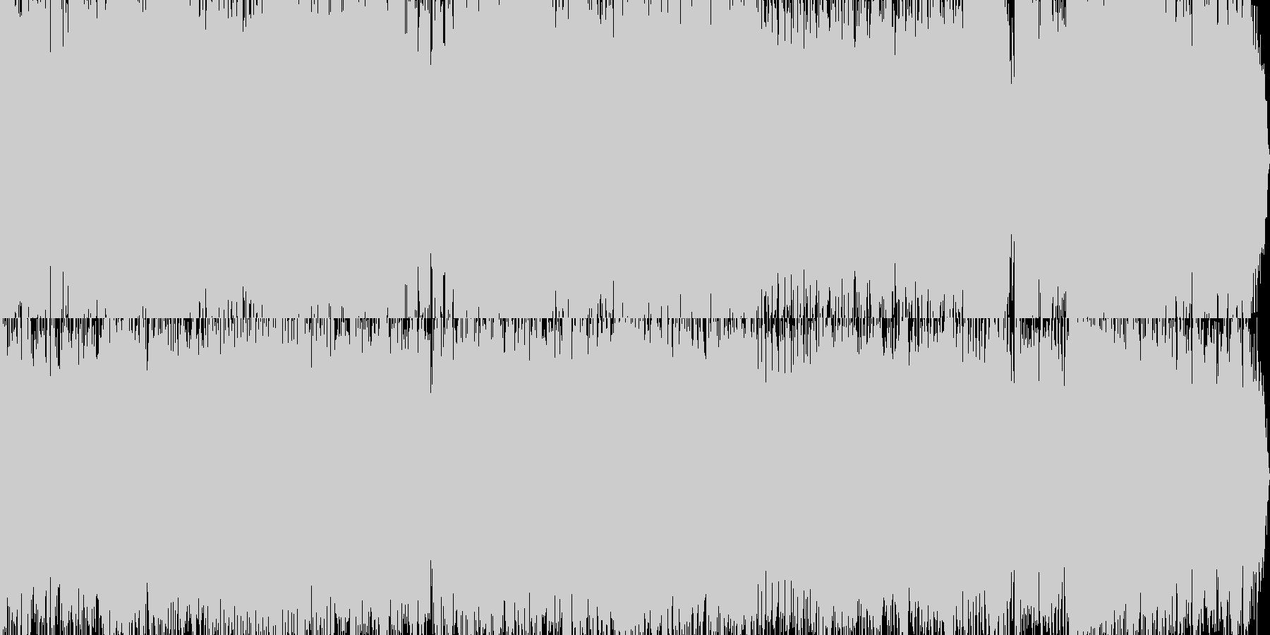 オルタナティブバラードの未再生の波形