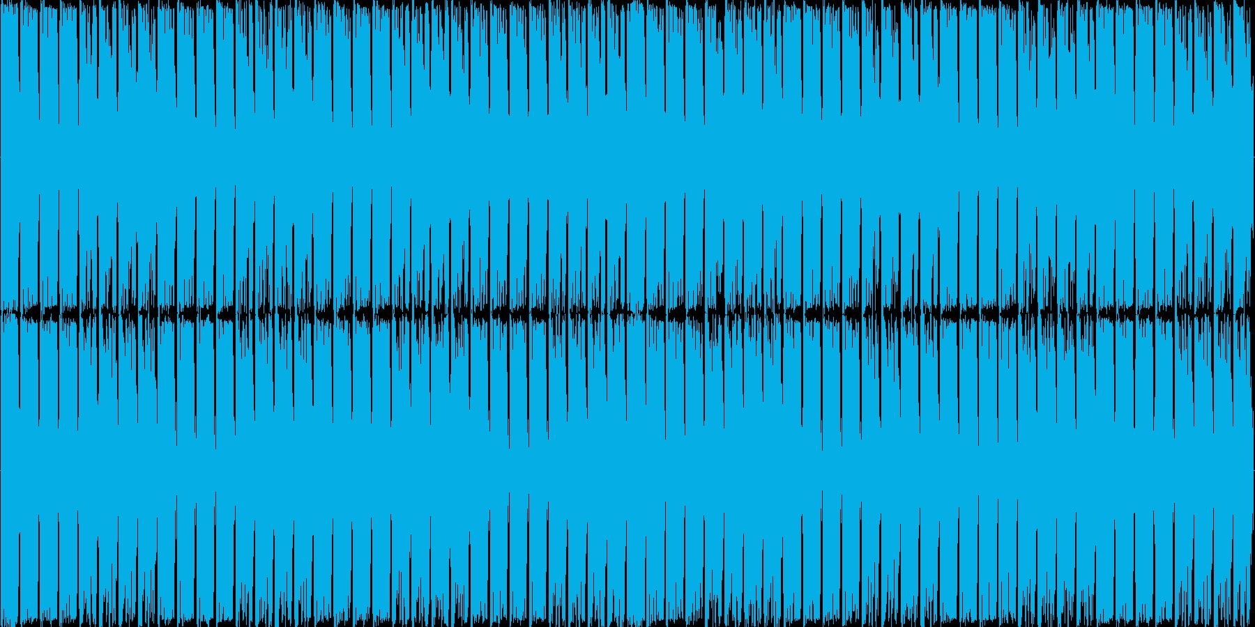 ループ可能/どっしりした応援系四つ打ちの再生済みの波形