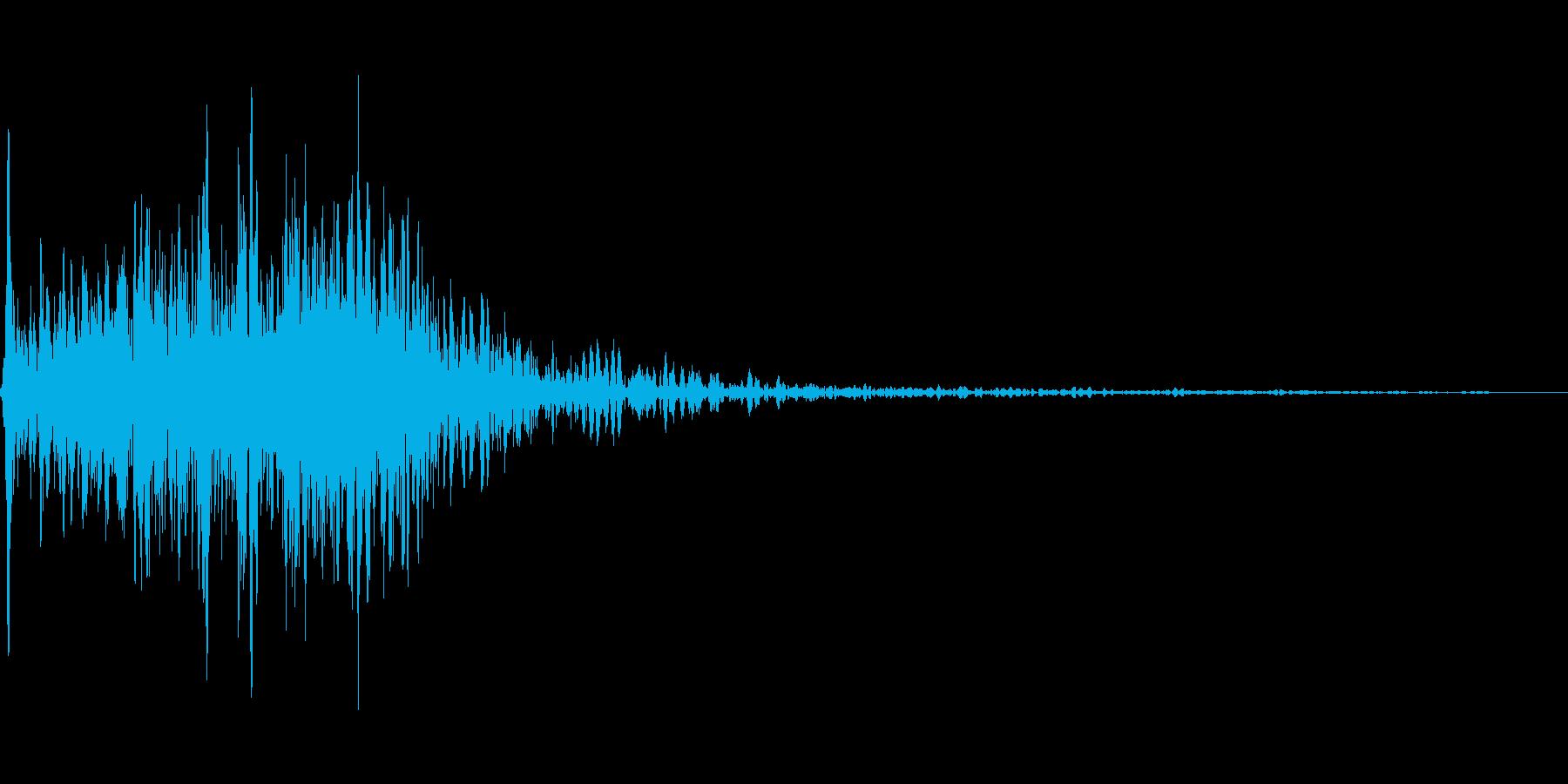 吹きすさぶ風・竜巻系の魔法(中レベル)mの再生済みの波形