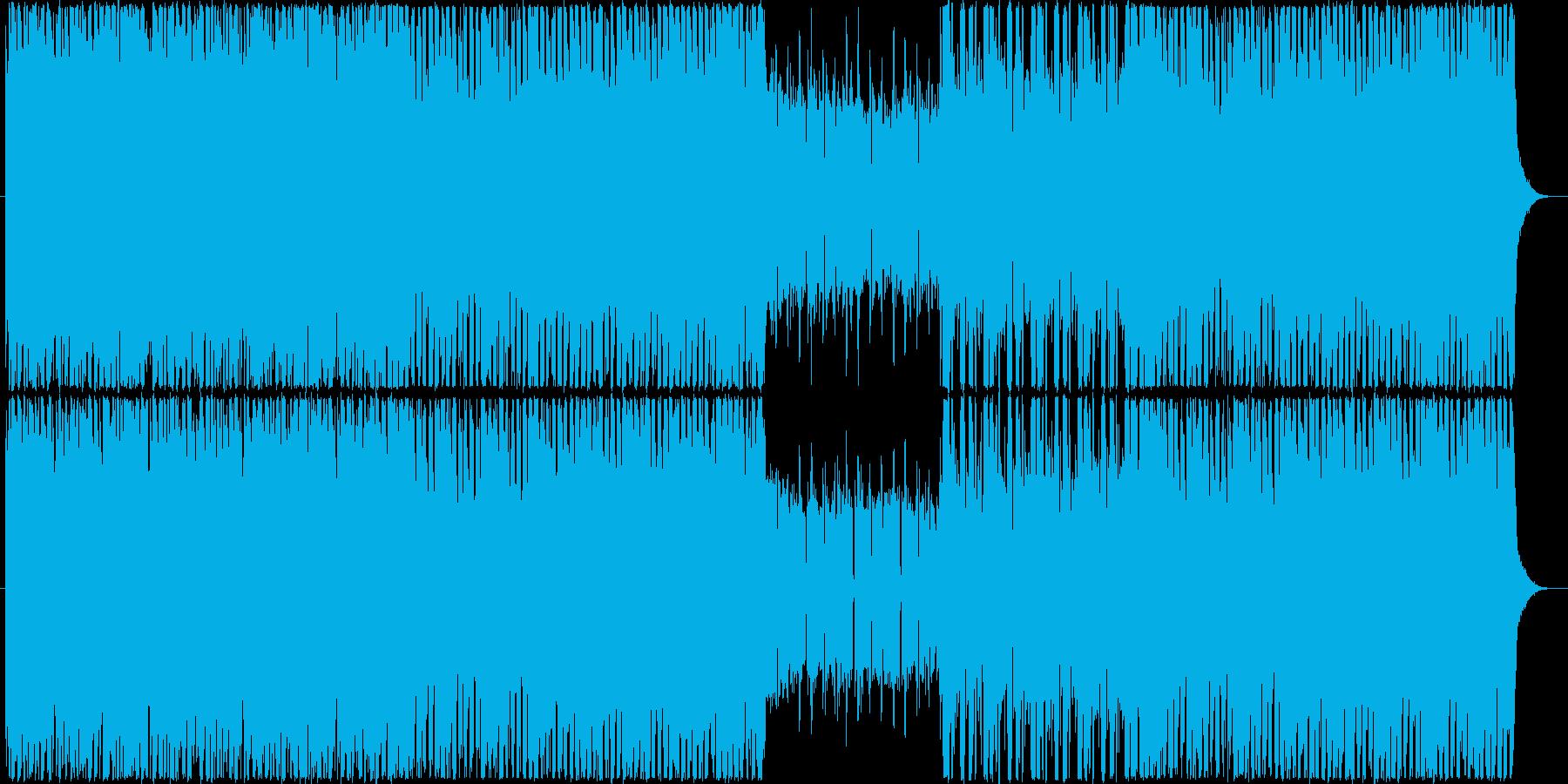 CMや企業VP向け 爽やかギターポップの再生済みの波形
