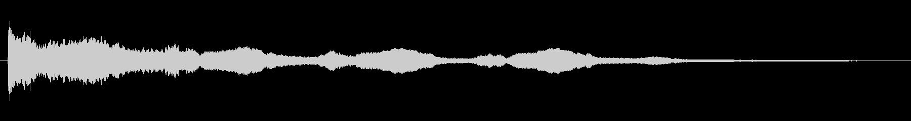 キラキラSE(キーン/補助魔法)の未再生の波形