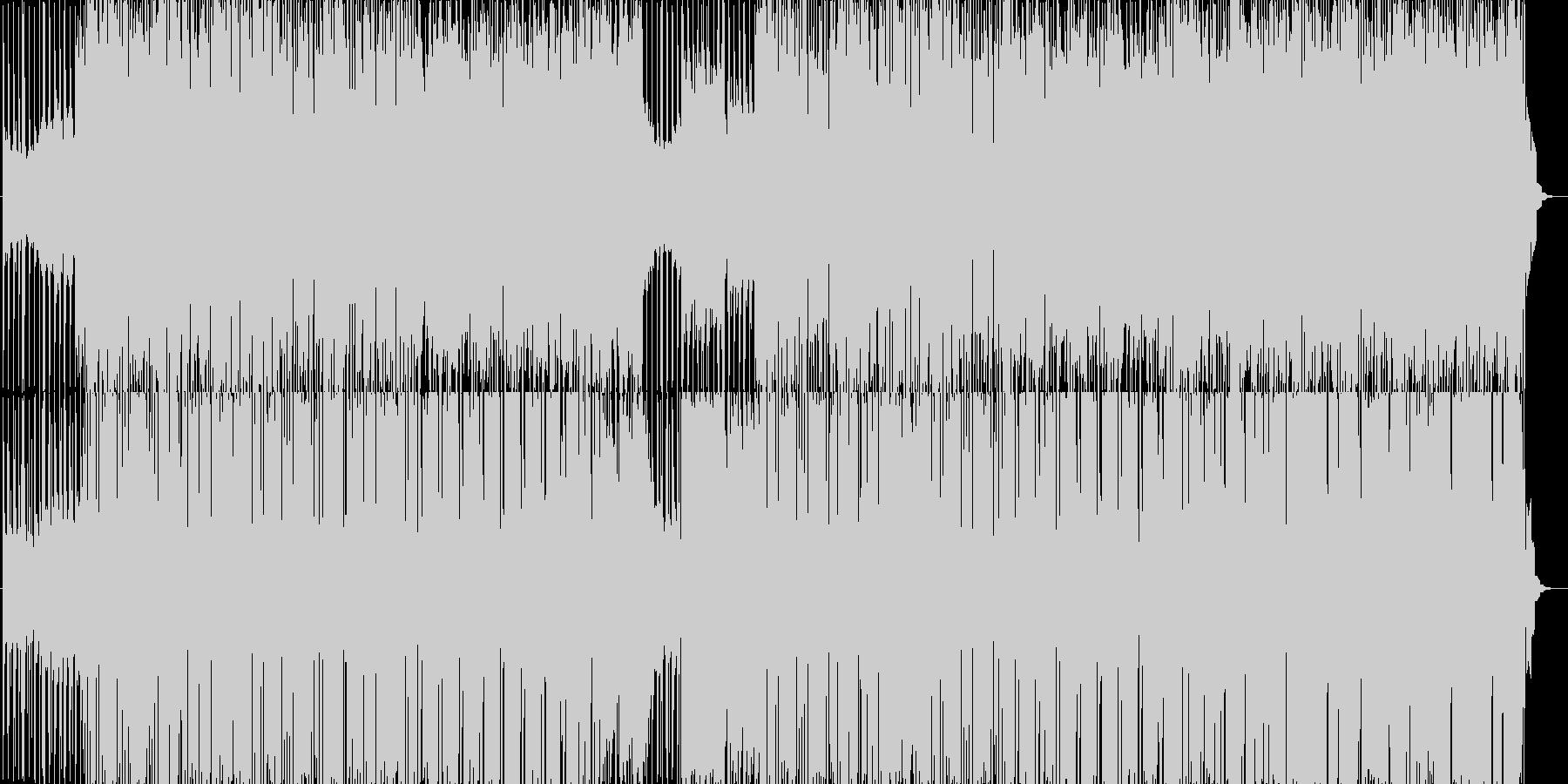 シンセサイザーの音源を中心にうねうね動…の未再生の波形