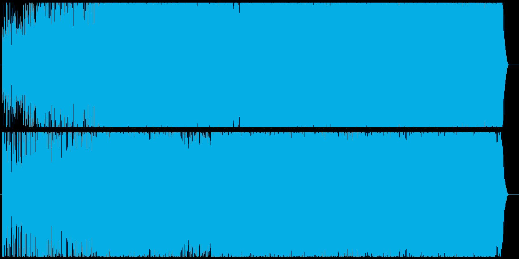 超爽やかEDMの再生済みの波形