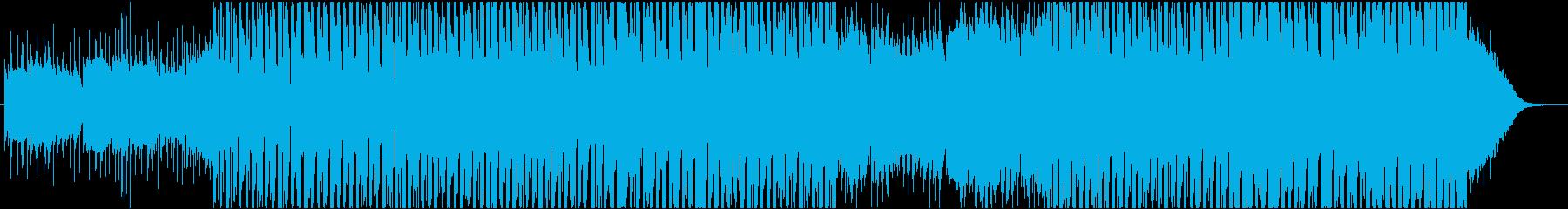 トロピカルでナチュラルなハウスの再生済みの波形