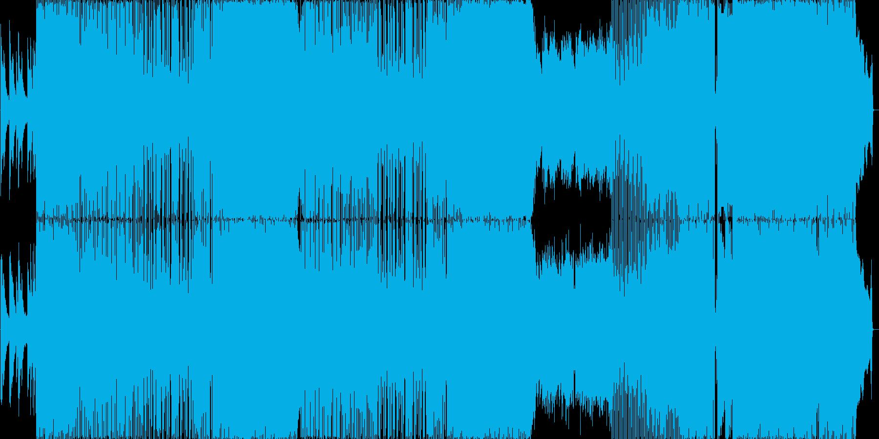 疾走感のあるオープニング向きギターロックの再生済みの波形
