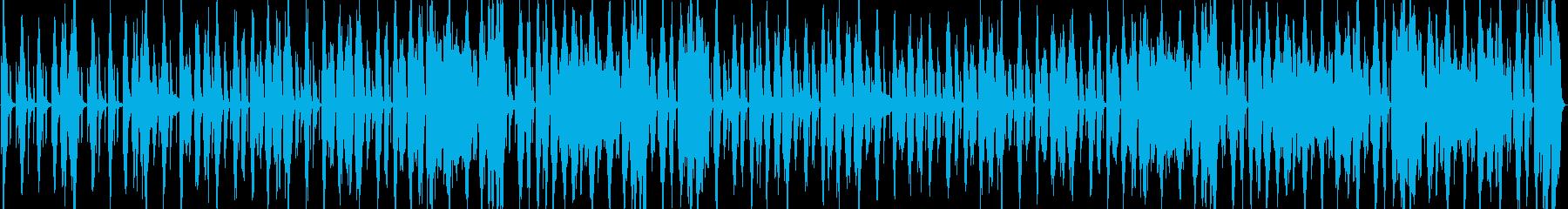 吹奏楽マーチループ曲楽しくスキップの再生済みの波形