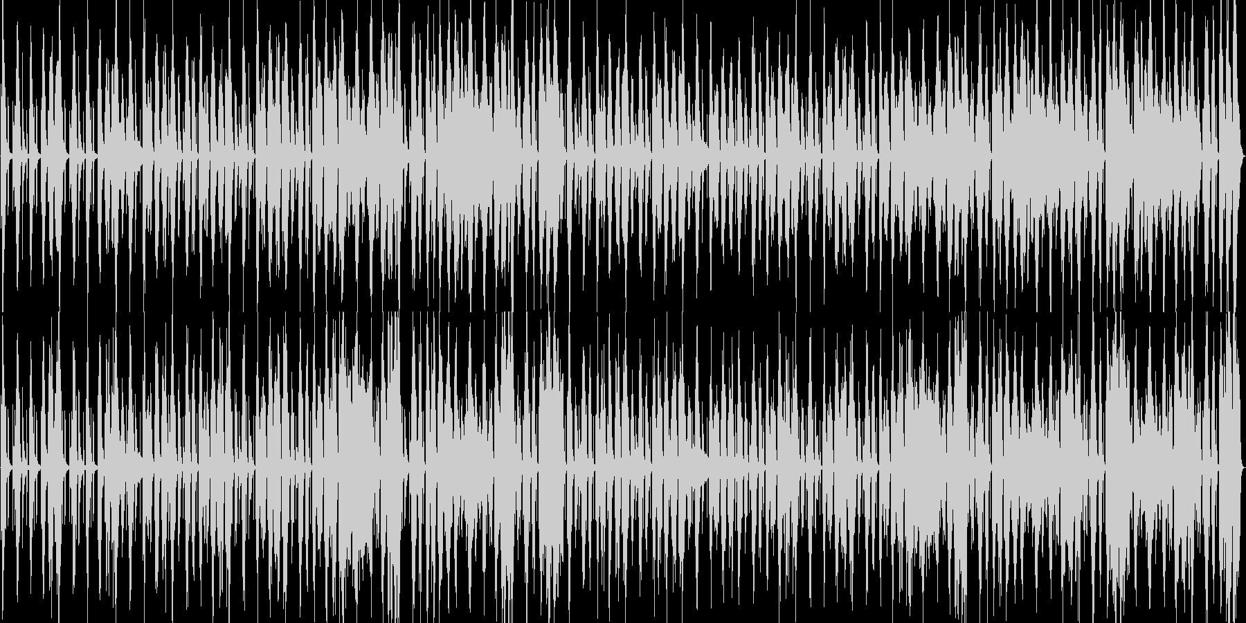 吹奏楽マーチループ曲楽しくスキップの未再生の波形