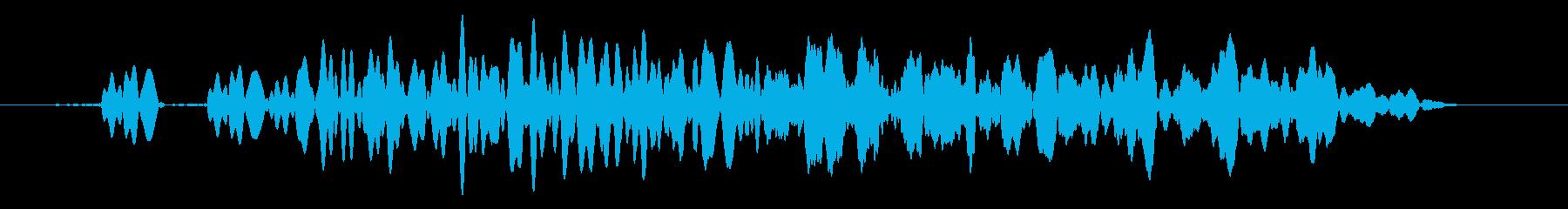 キャンセル/メニュー画面の演出に最適!4の再生済みの波形