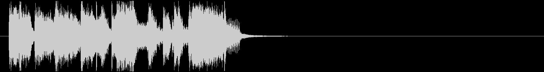 軽快 いきいき 元気 躍動 イベントの未再生の波形