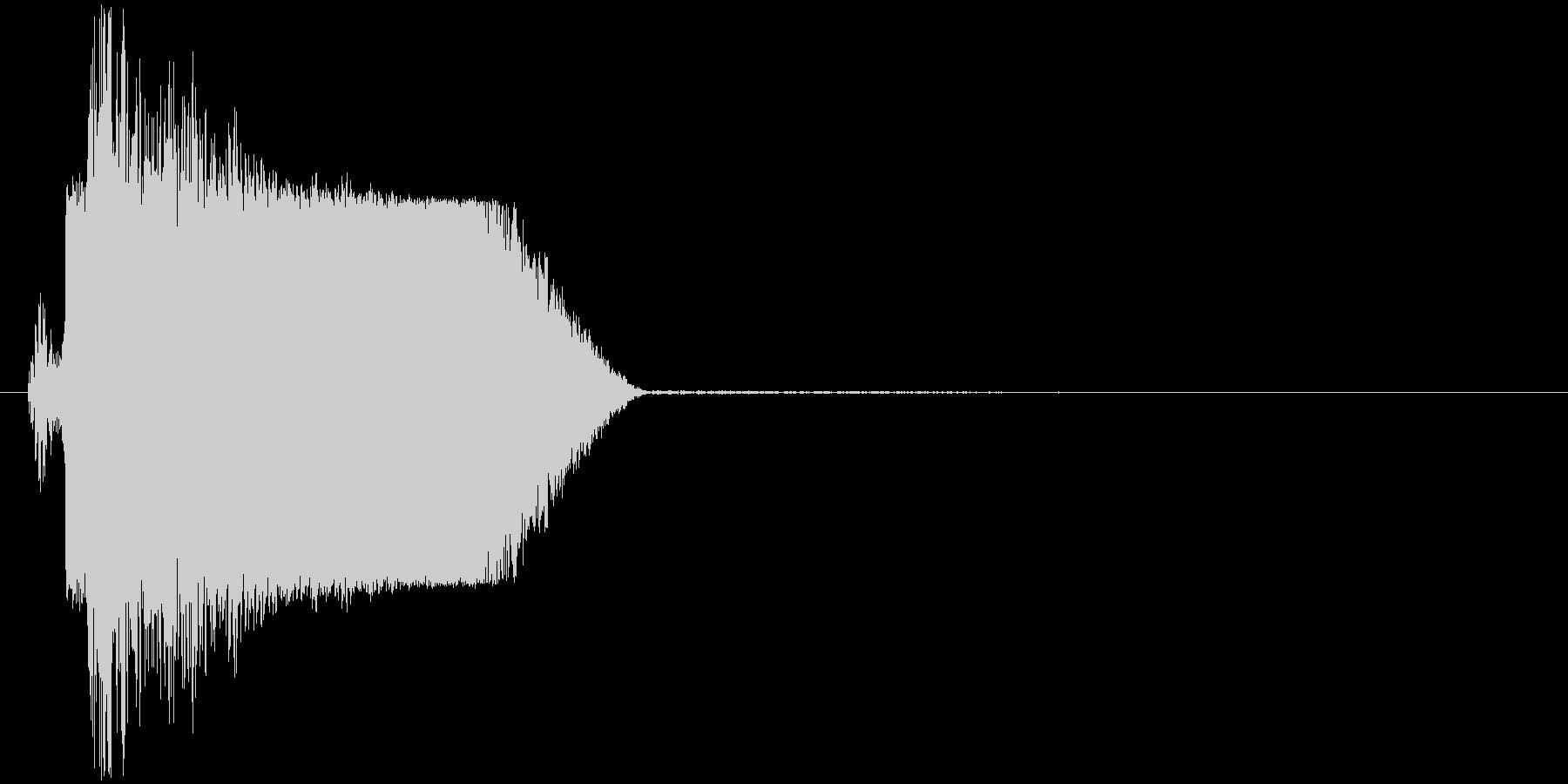 ギュイッ(ロボット、起動、動き出す)の未再生の波形