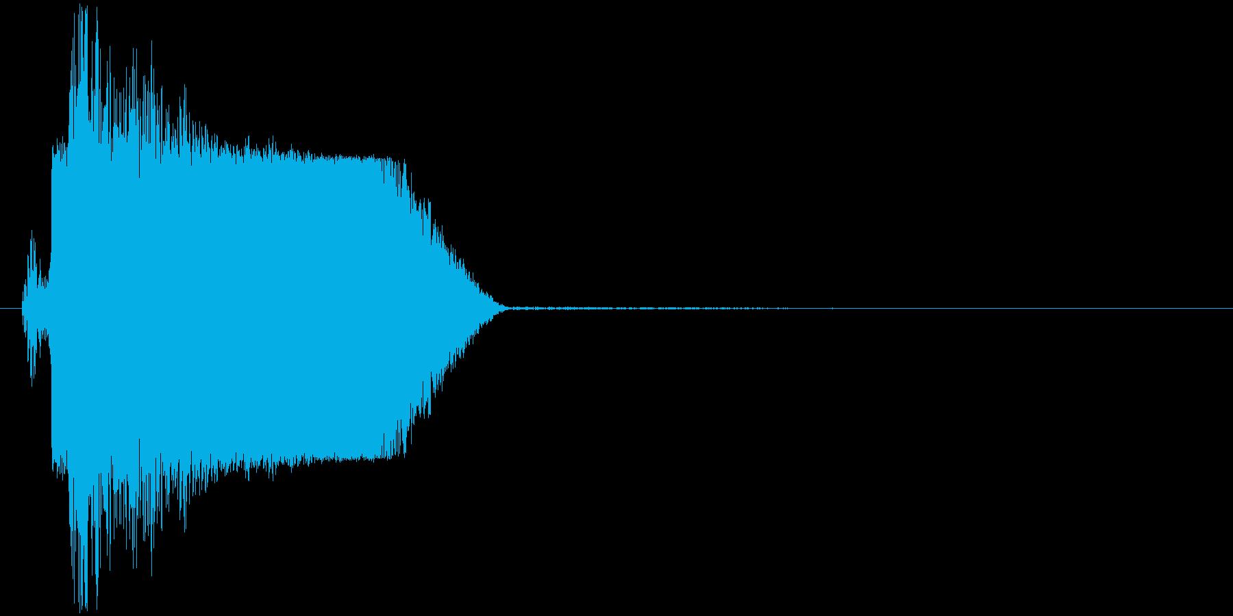 ギュイッ(ロボット、起動、動き出す)の再生済みの波形