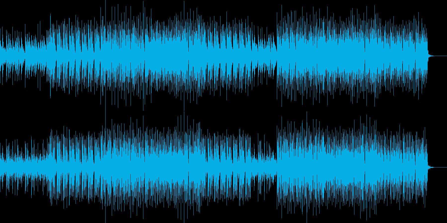 ベル系シンセの切ないリフが印象的なBGMの再生済みの波形