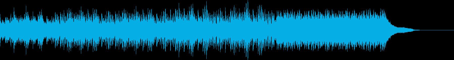 【1分版】ハッピーなピアノハウスの再生済みの波形