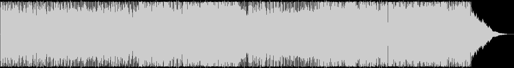 疾走感溢れるクールなエレキロックサウンドの未再生の波形