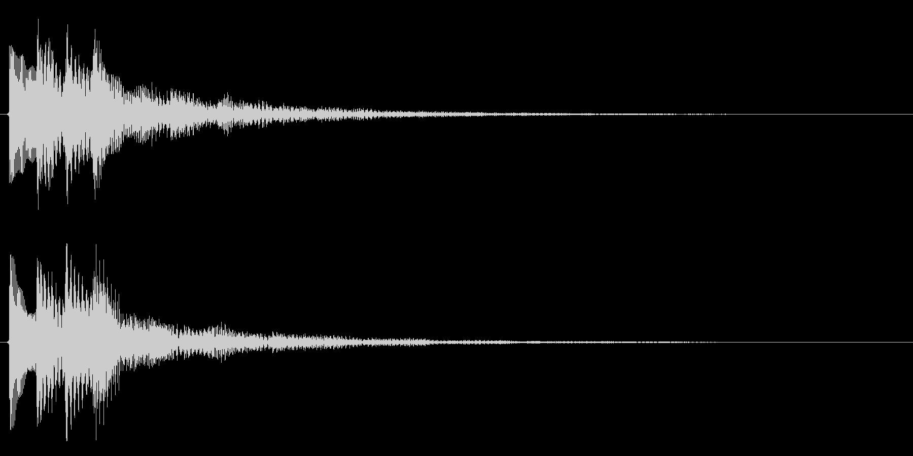 レベルアップ/上昇系/補足の未再生の波形