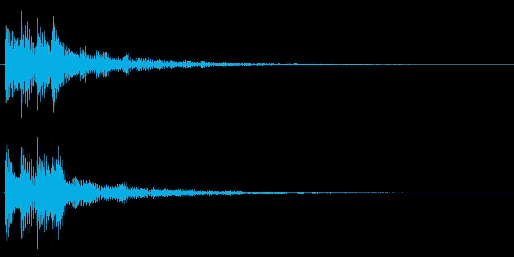 レベルアップ/上昇系/補足の再生済みの波形
