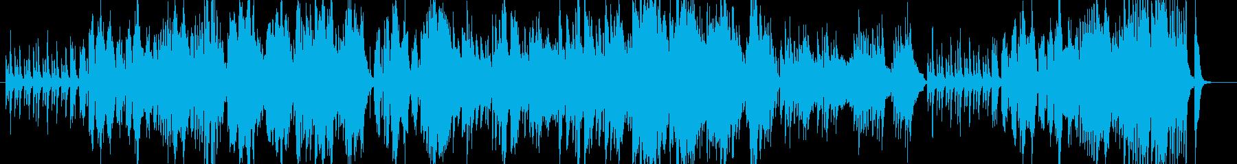 泡の音がとてもキュートなポップスの再生済みの波形