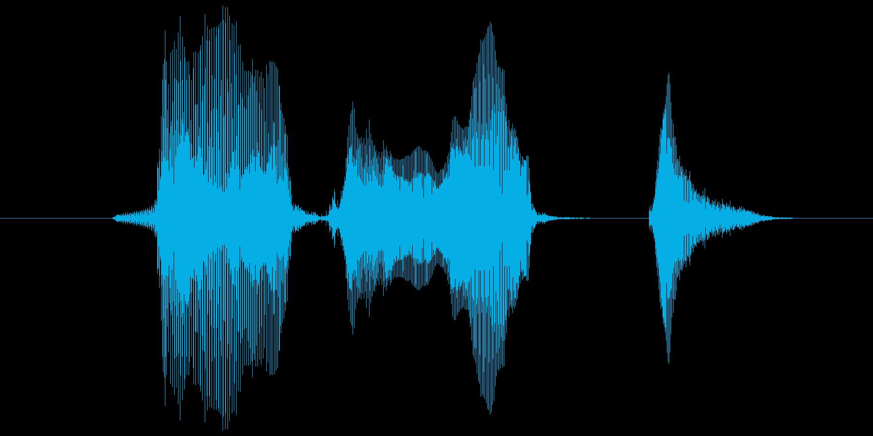 バージョンアップ!の再生済みの波形