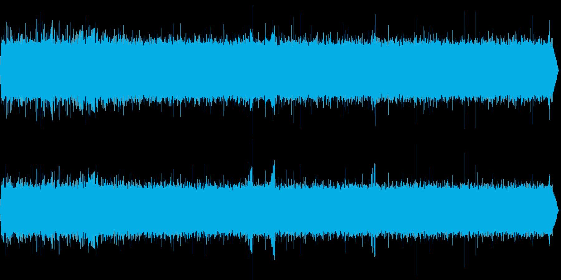 【自然音】川、鳥、虫の声 熊野での録音の再生済みの波形