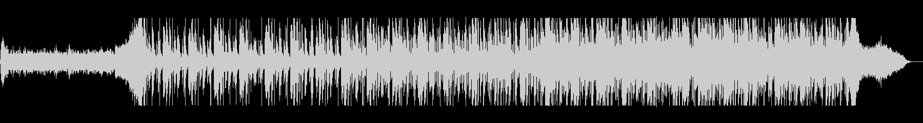 シリアスなバイオリン・ピアノなどのテクノの未再生の波形