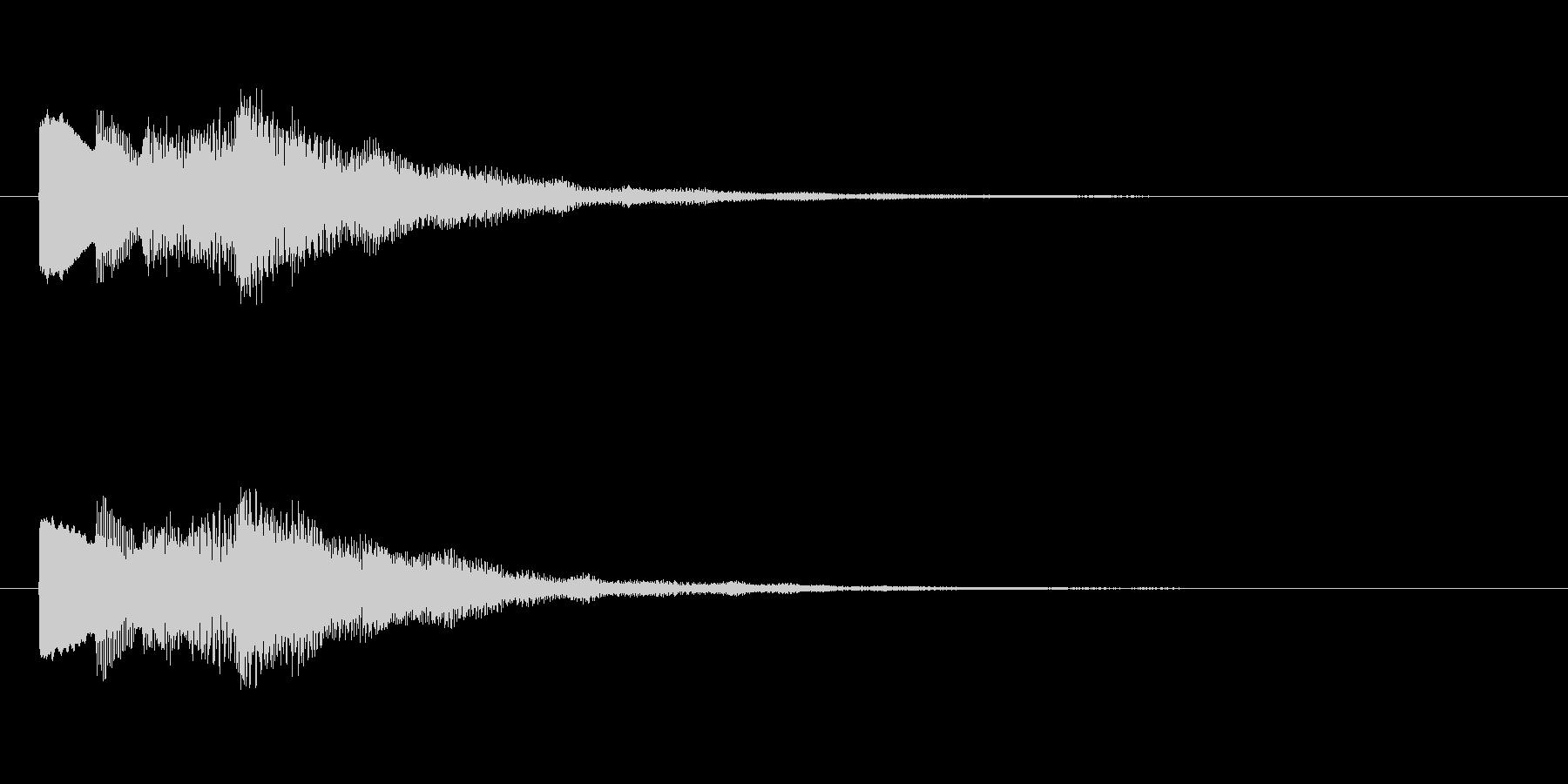 【チャイム 注意03-up1】の未再生の波形