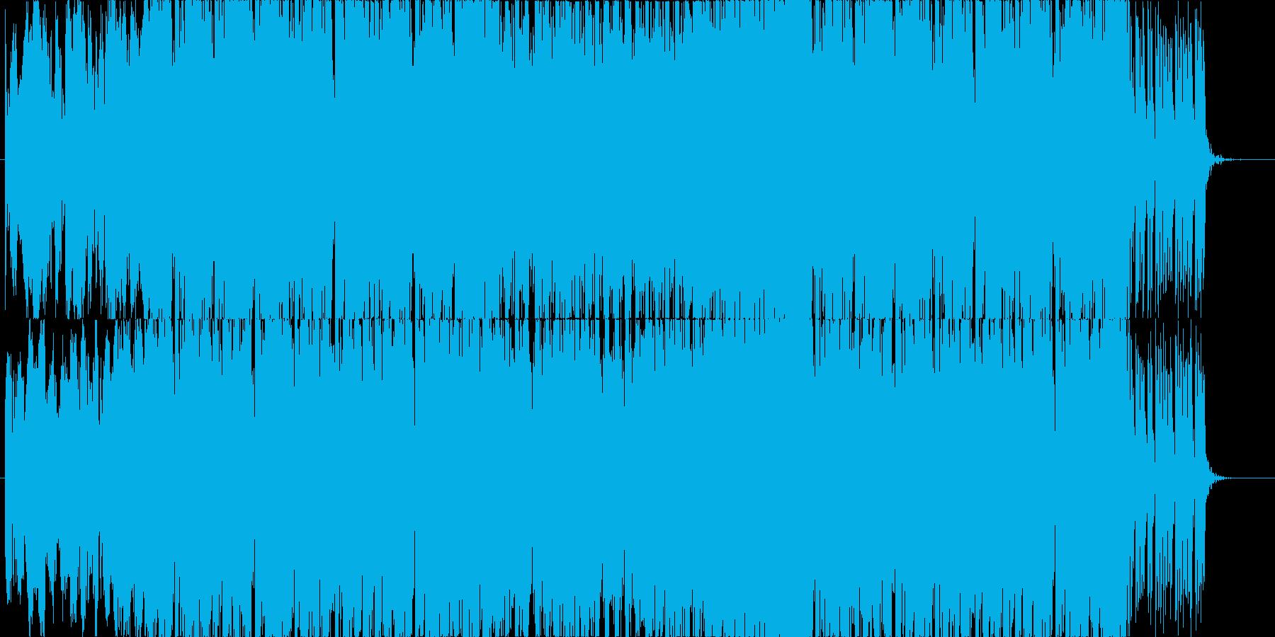 バトル、疾走感のあるエレクトロの再生済みの波形