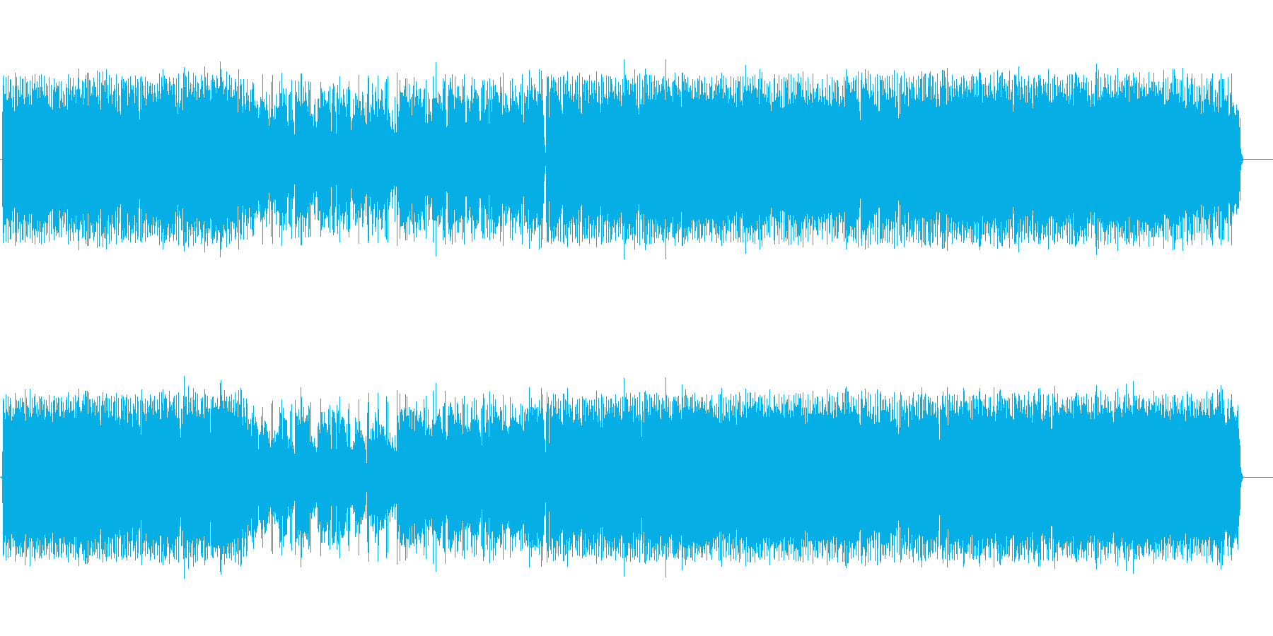 ブライダル永遠 80年代風フォークロックの再生済みの波形