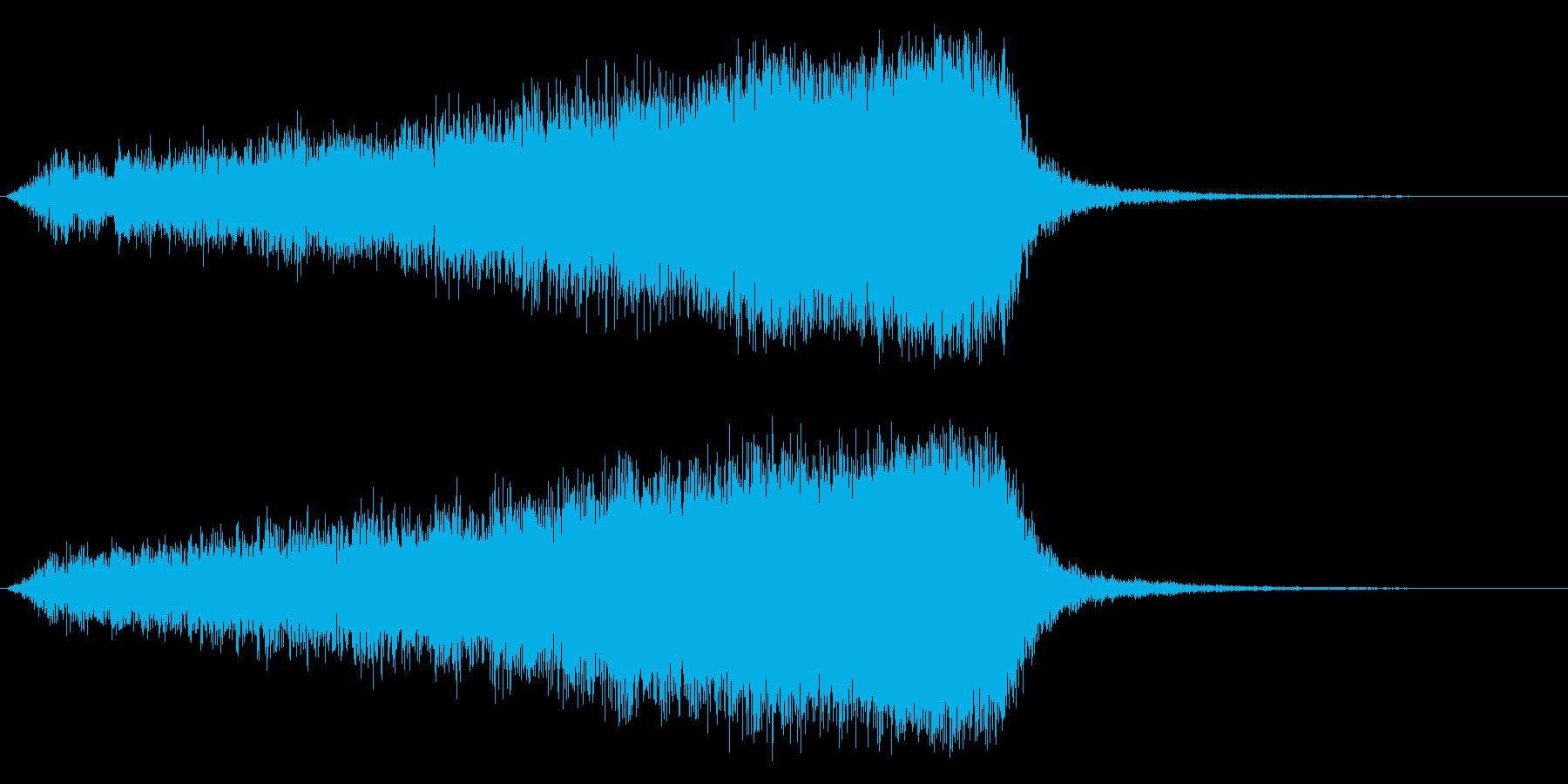 サスペンス インパクト ジングル01の再生済みの波形