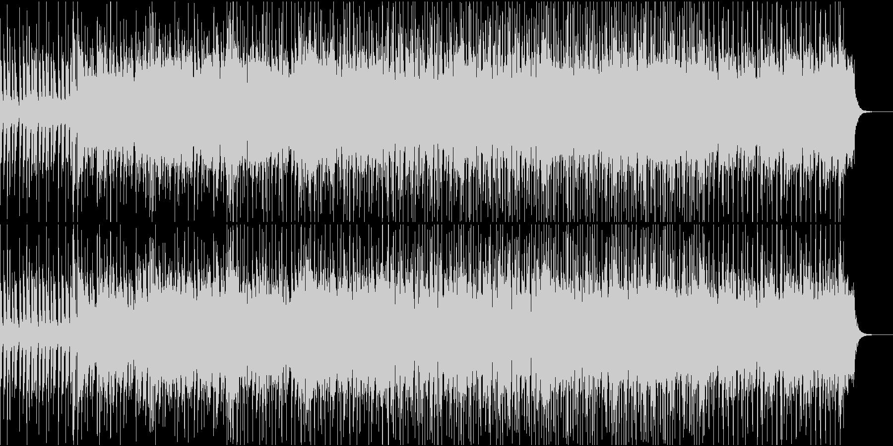 ひっそりとしたい時に聞くようなBGMの未再生の波形