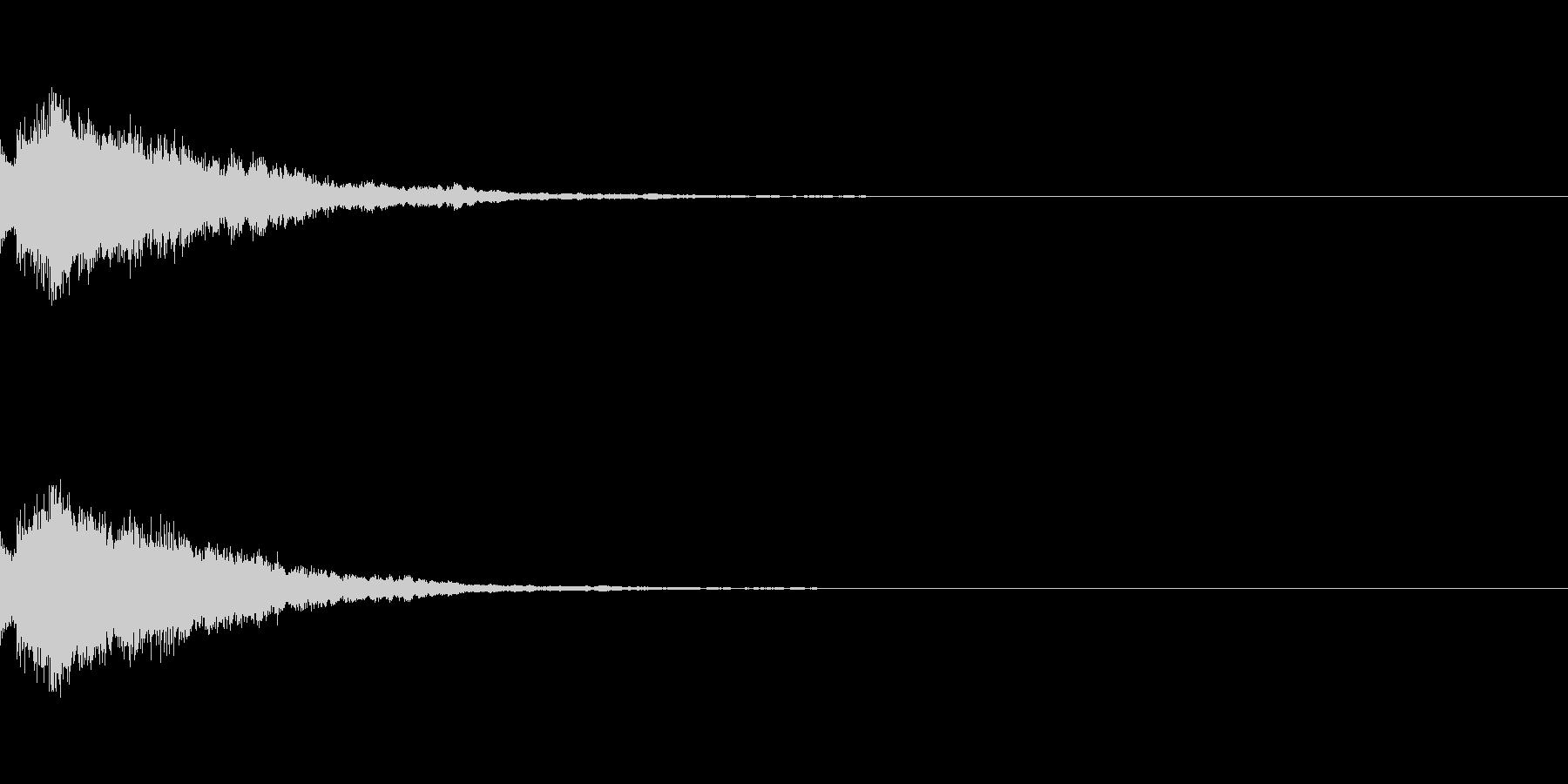 システム起動音_その2の未再生の波形