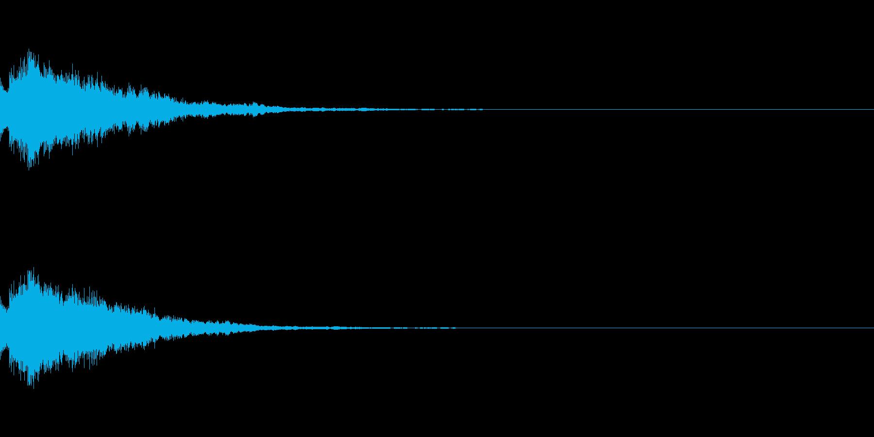 システム起動音_その2の再生済みの波形
